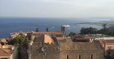 Taormina: roof view